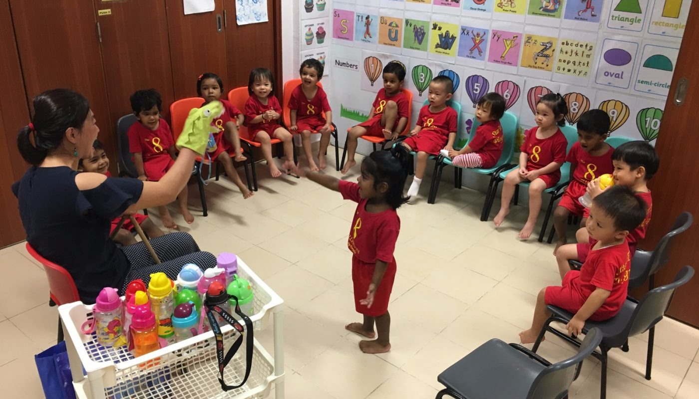 Star Tots Playgroup Class In Progress